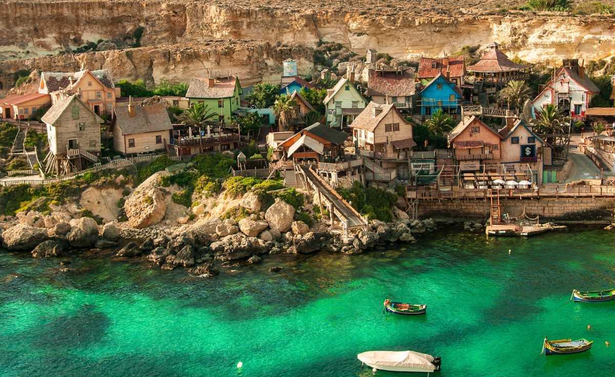 Το χωριό Popeye στη Μάλτα