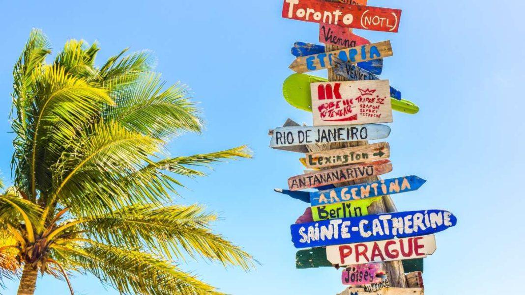 ονόματα προορισμών για ταξίδια σε πινακίδες