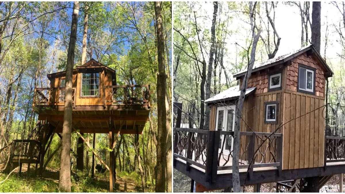 Romantic Treehouse, Βόρεια Καρολίνα Airbnb
