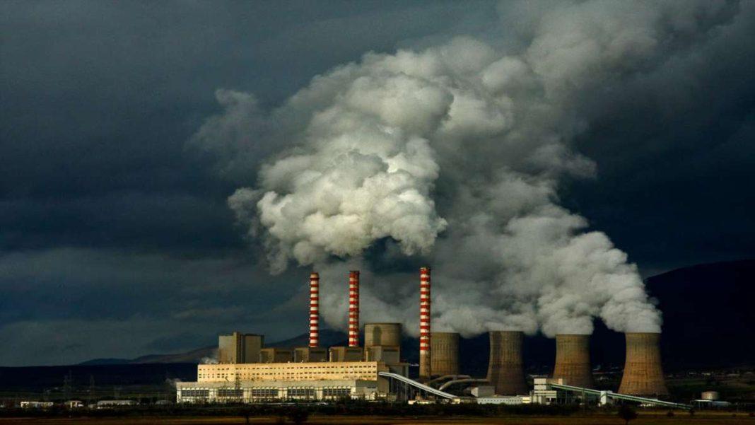 ρύπανση ατμόσφαιρας εργοστάσια καπνός