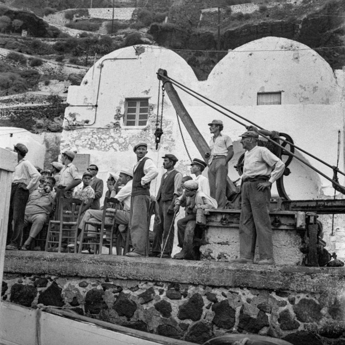 σαντορίνη 1950 λιμενεργάτες Γιαλός
