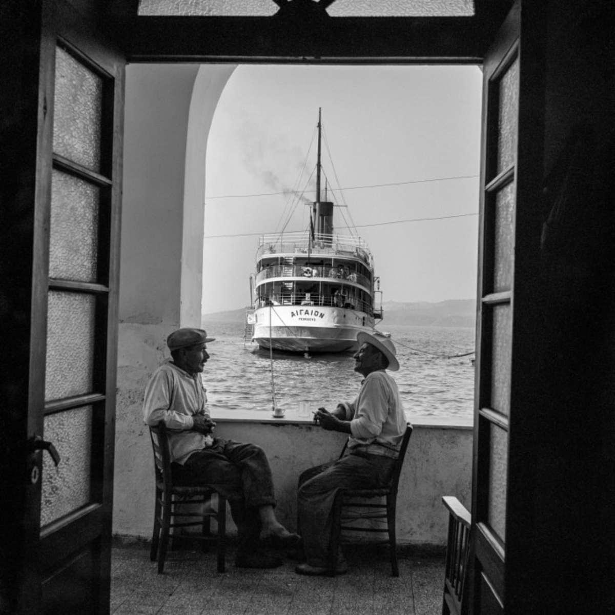 σαντορίνη 1950 πλοίο Αιγαίον Γιαλός