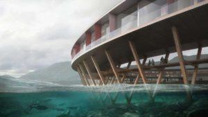 Το φουτουριστικό κυκλικό ξενοδοχείο της Νορβηγίας πάνω σε… παγετώνα!