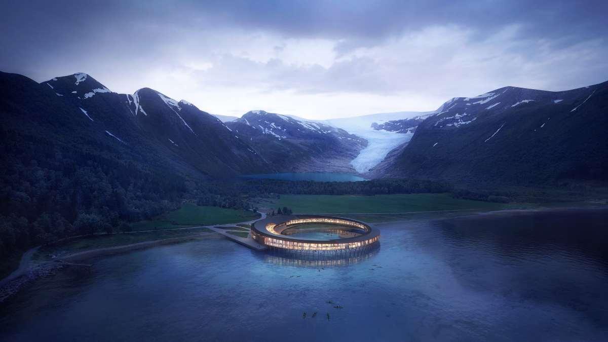 svart ξενοδοχείο νορβηγία πανοραμική