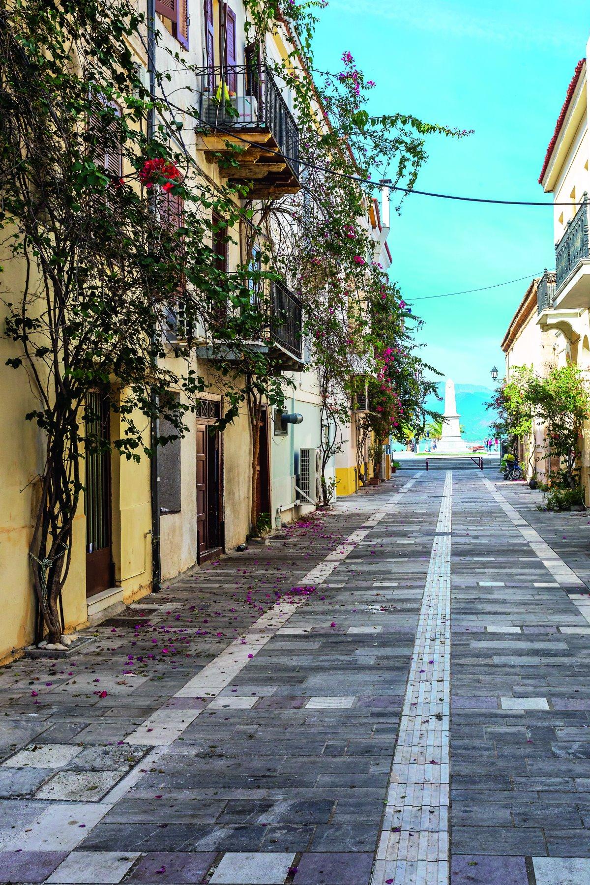 Στη Συνοικία του Γιαλού, Ναύπλιο