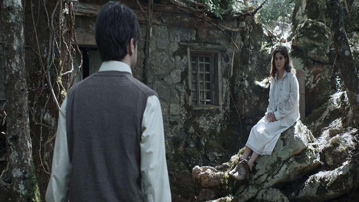 σκηνή από ελληνική ταινία τρόμου Αλυτη αρκαδικά χωριά