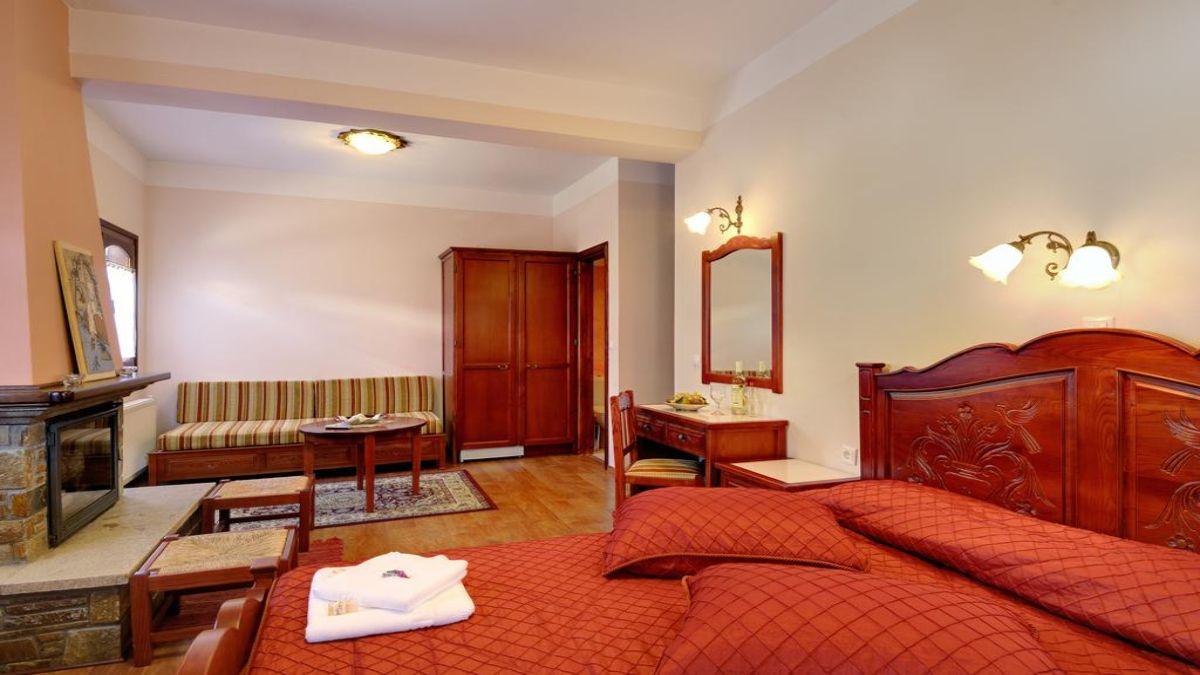 παραδοσιακό υπνοδωμάτιο