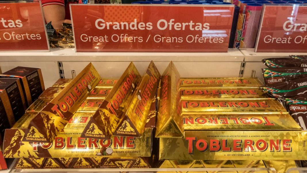Toblerone στο duty free
