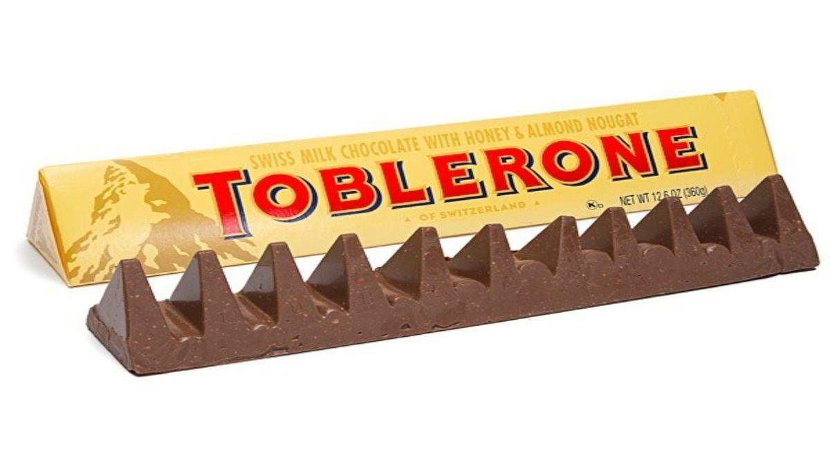 Toblerone συσκευασία