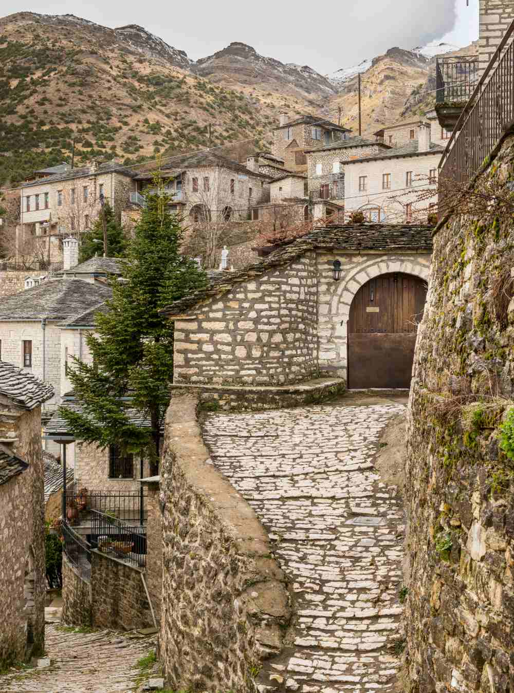 Χωριό Συρράκο, Τζουμέρκα