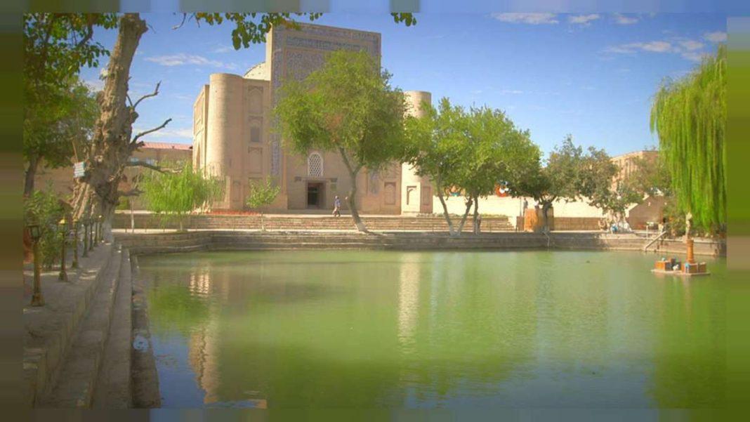 ουζμπεκιστάν λίμνη Liabi House