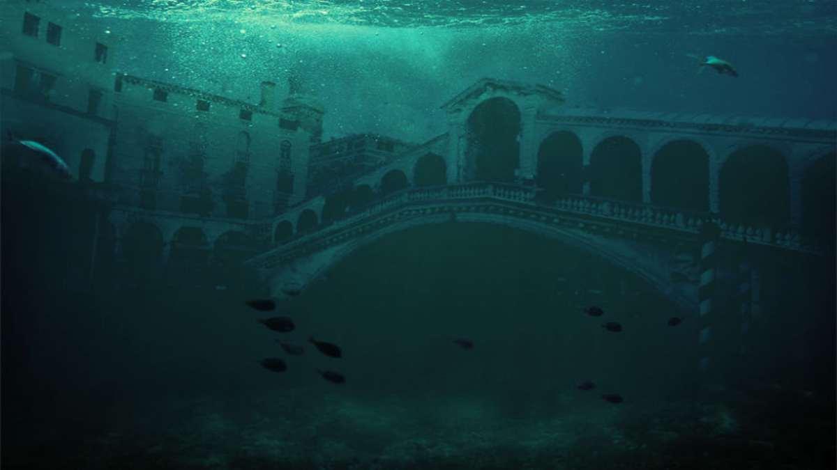 Βενετία πλημμυρισμένη μετά την κλιματική αλλαγή