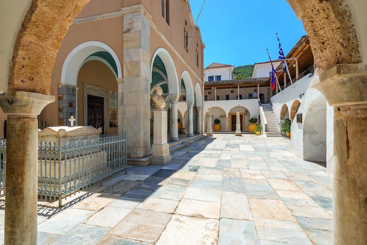 Το αρχαιολογικό μουσείο της Ύδρας