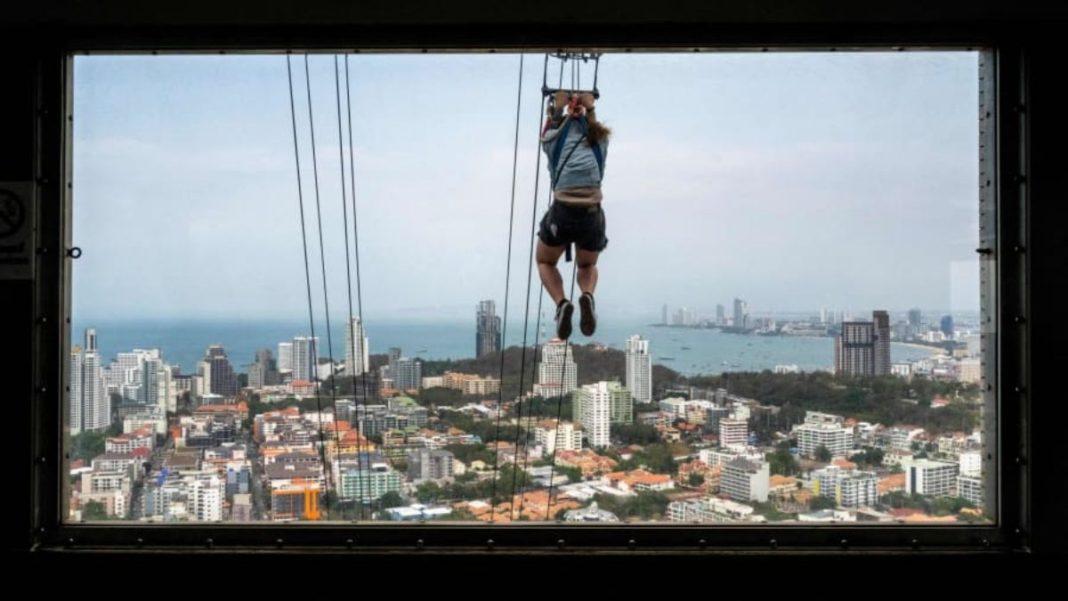 zipline στην Ταϋλάνδη