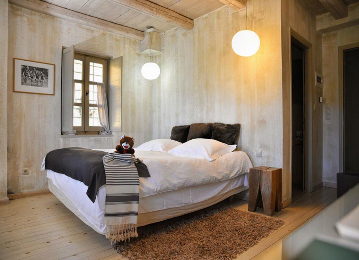 Μικρό Πάπιγκο πράσινο ξενοδοχείο δωμάτιο δίκλινο