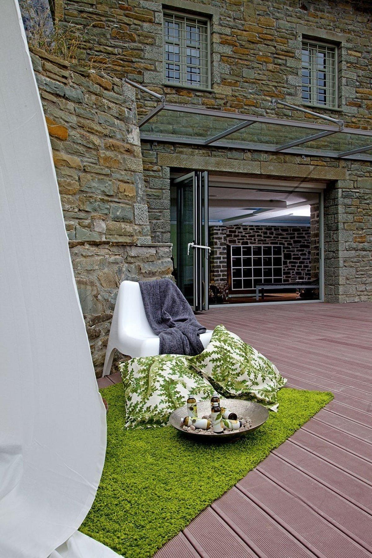 Μικρό Πάπιγκο πράσινο ξενοδοχείο spa είσοδος