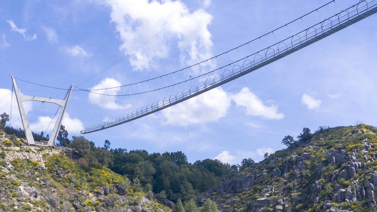 516 Arouca Bridge Πόρτο είσοδος γέφυρας από μακριά