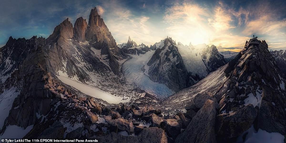 Οι κριτές τοποθέτησαν αυτή τη φωτογραφία , που τραβήχτηκε στην Αργεντινή Παταγονία από τον Αμερικανό ερασιτέχνη φωτογράφο Tyler Lekki, έβδομο στην κατηγορία Τοπίο / Φύση