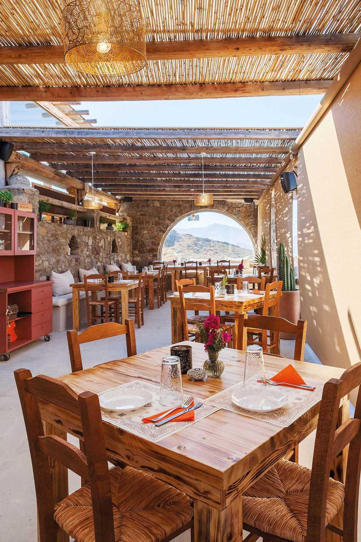 Bandanna Mykonos εστιατόριο