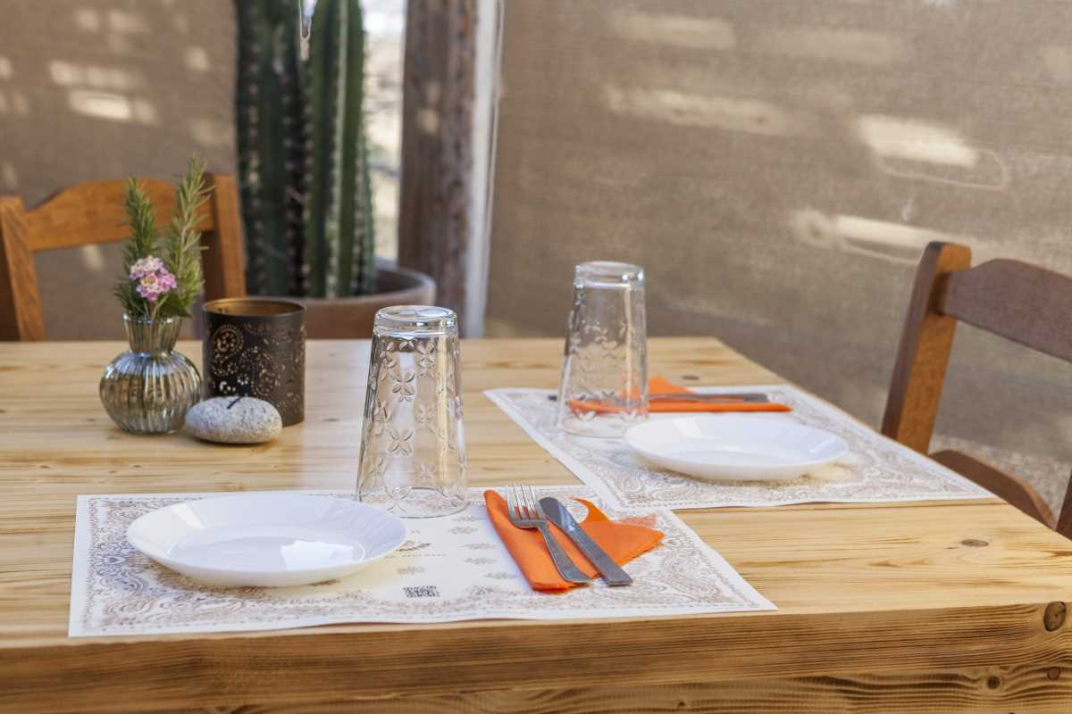 Bandanna Mykonos τραπέζι