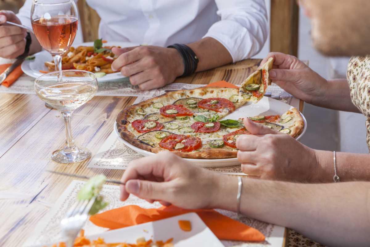 Bandanna Mykonos pizza