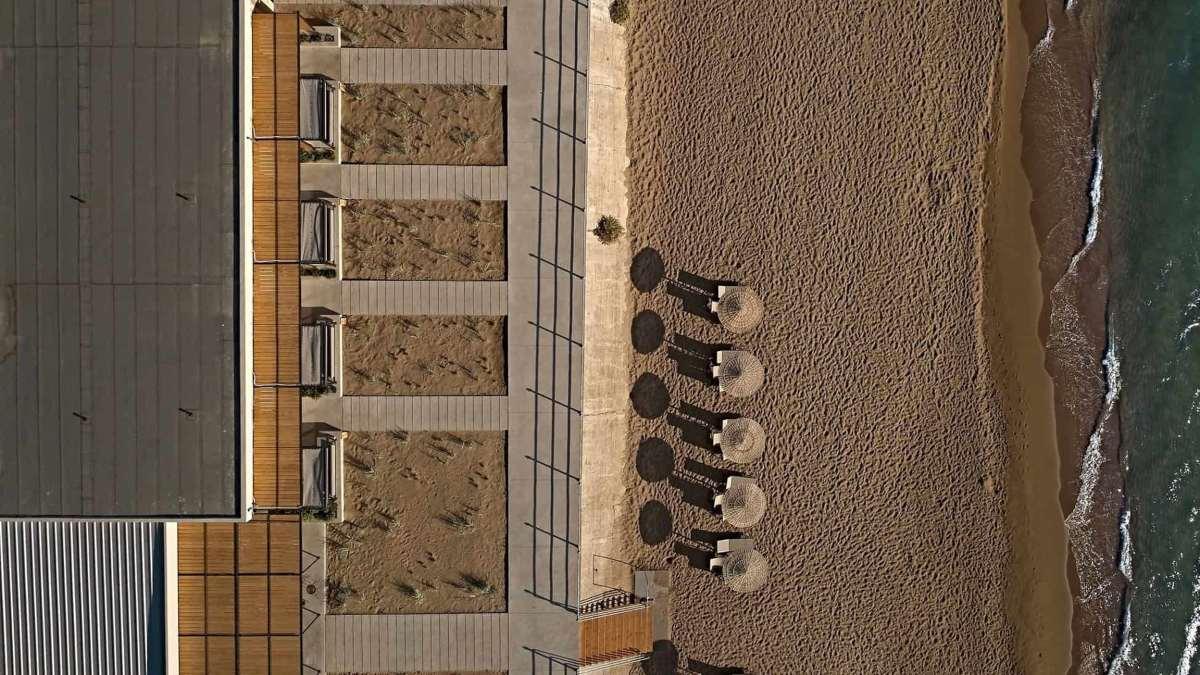 Dexamenes seaside hotel Ηλεία πανοραμική