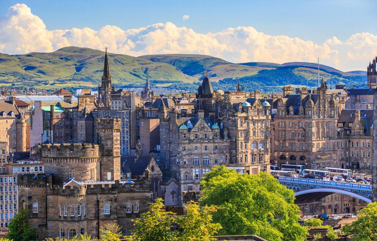 Εδιμβούργο Σκωτία κάστρα