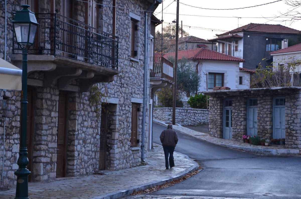 Ελληνικό Αρκαδίας, γενική άποψη του χωριού