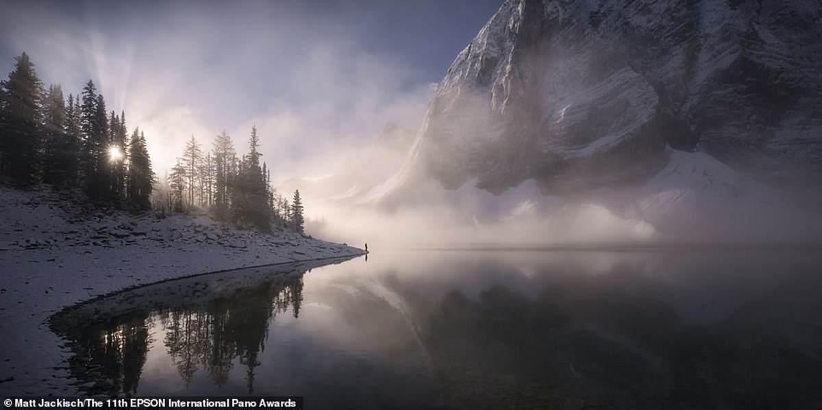 Η Floe Lake στη Βρετανική Κολομβία, αποθανατίζεται από τον Jackisch. Ήρθε 31ος στην κατηγορία Open Landscape / Nature
