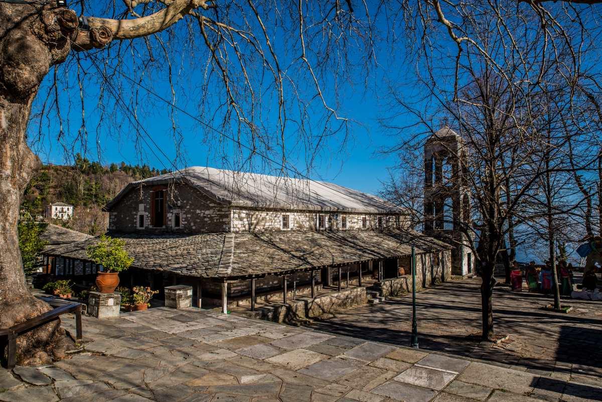Το χωριό Κισσός στο Πήλιο