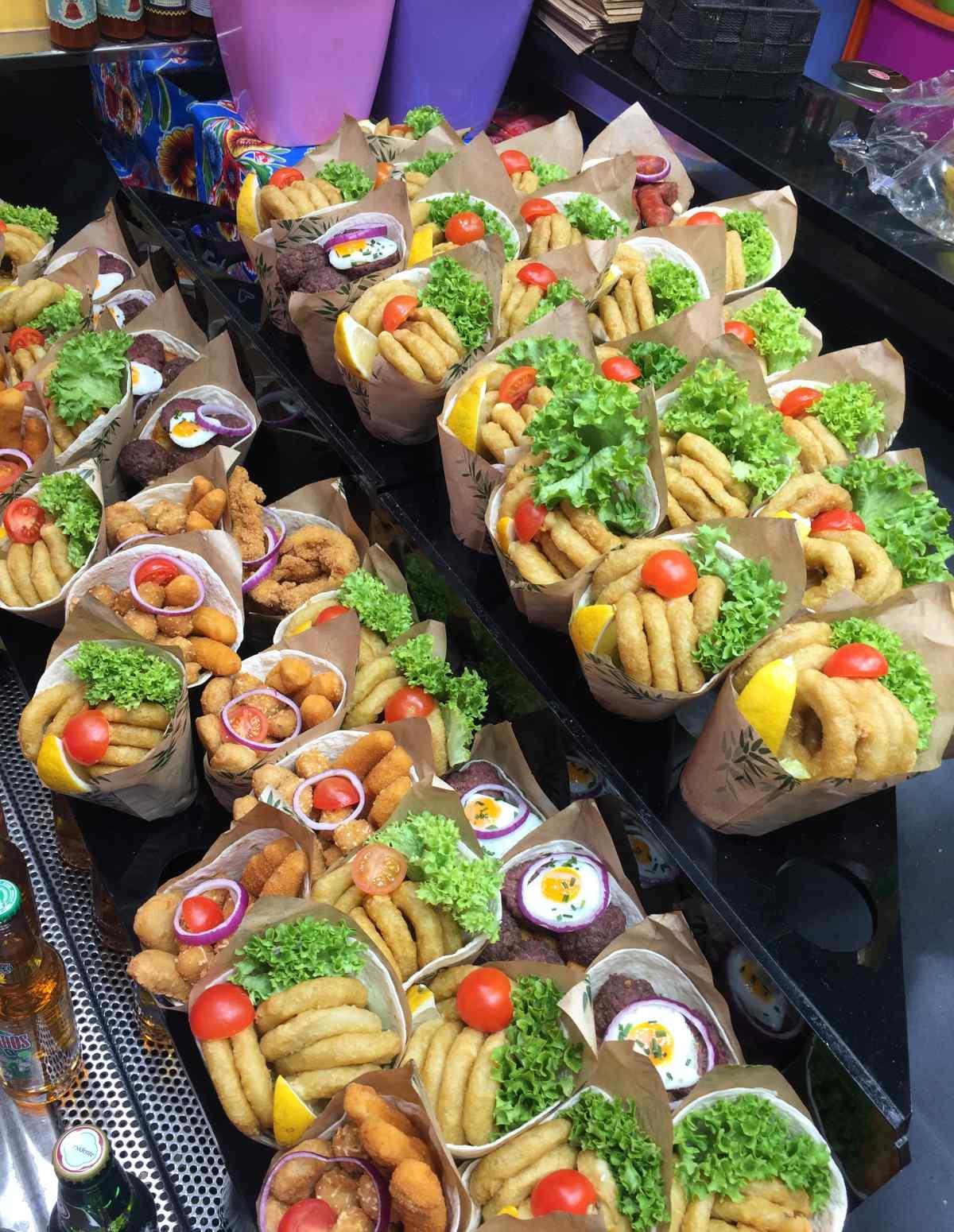 La Boqueria, street food