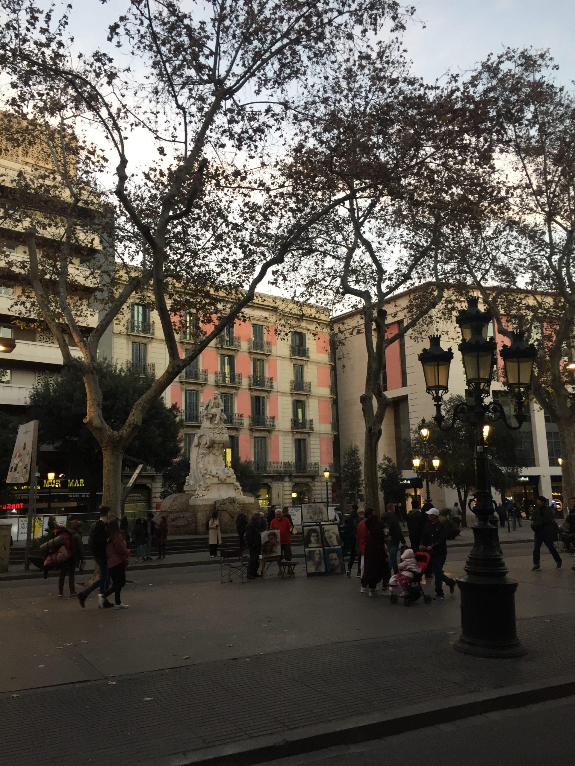 La Rambla, Βαρκελώνη