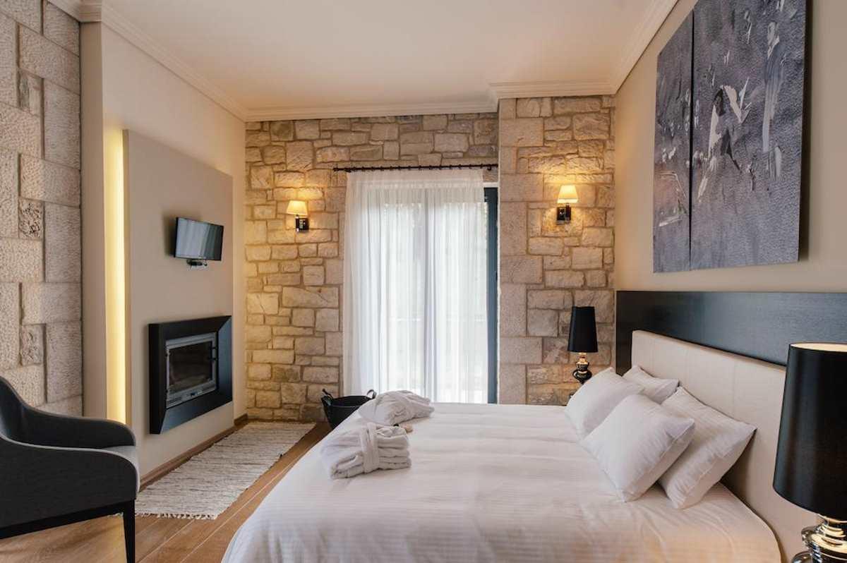Levidi Suites, κρεβάτι