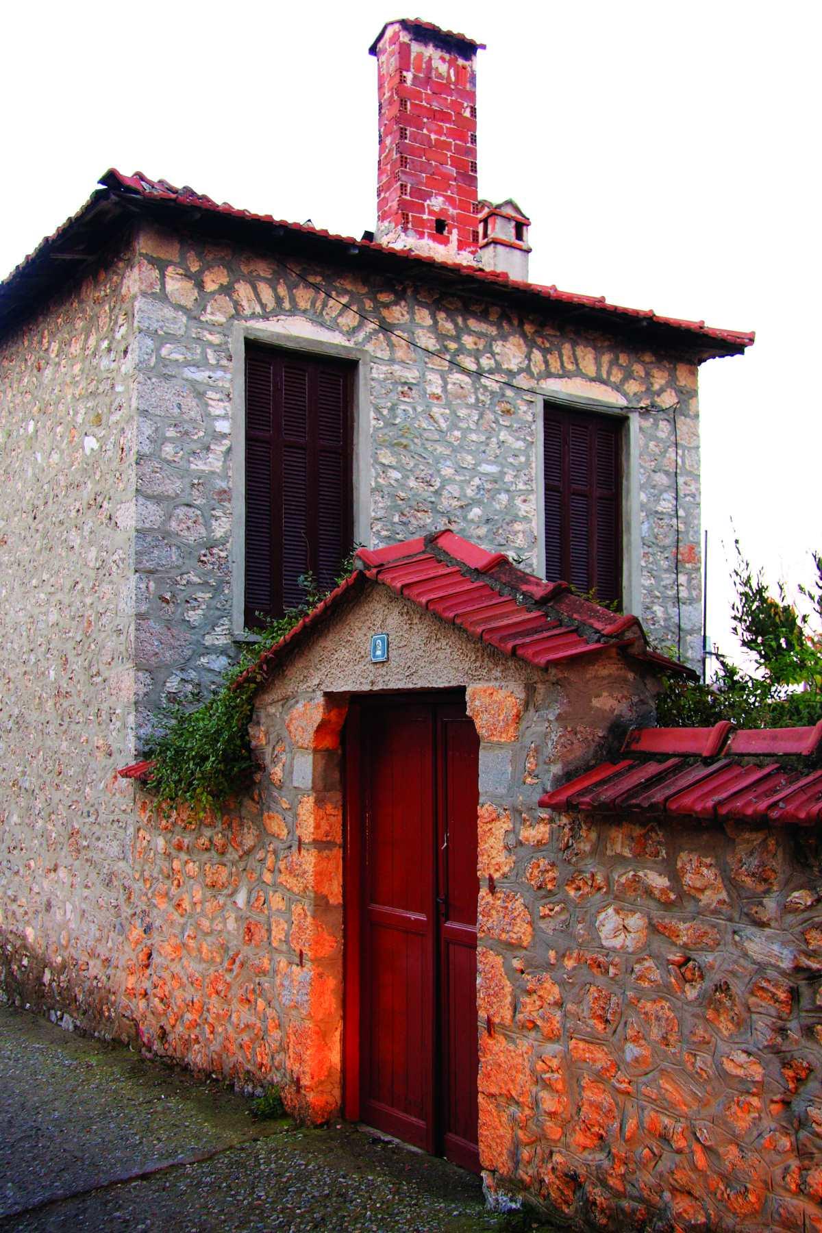Πέτρινα σπίτια, Λιτόχωρο Πιερίας