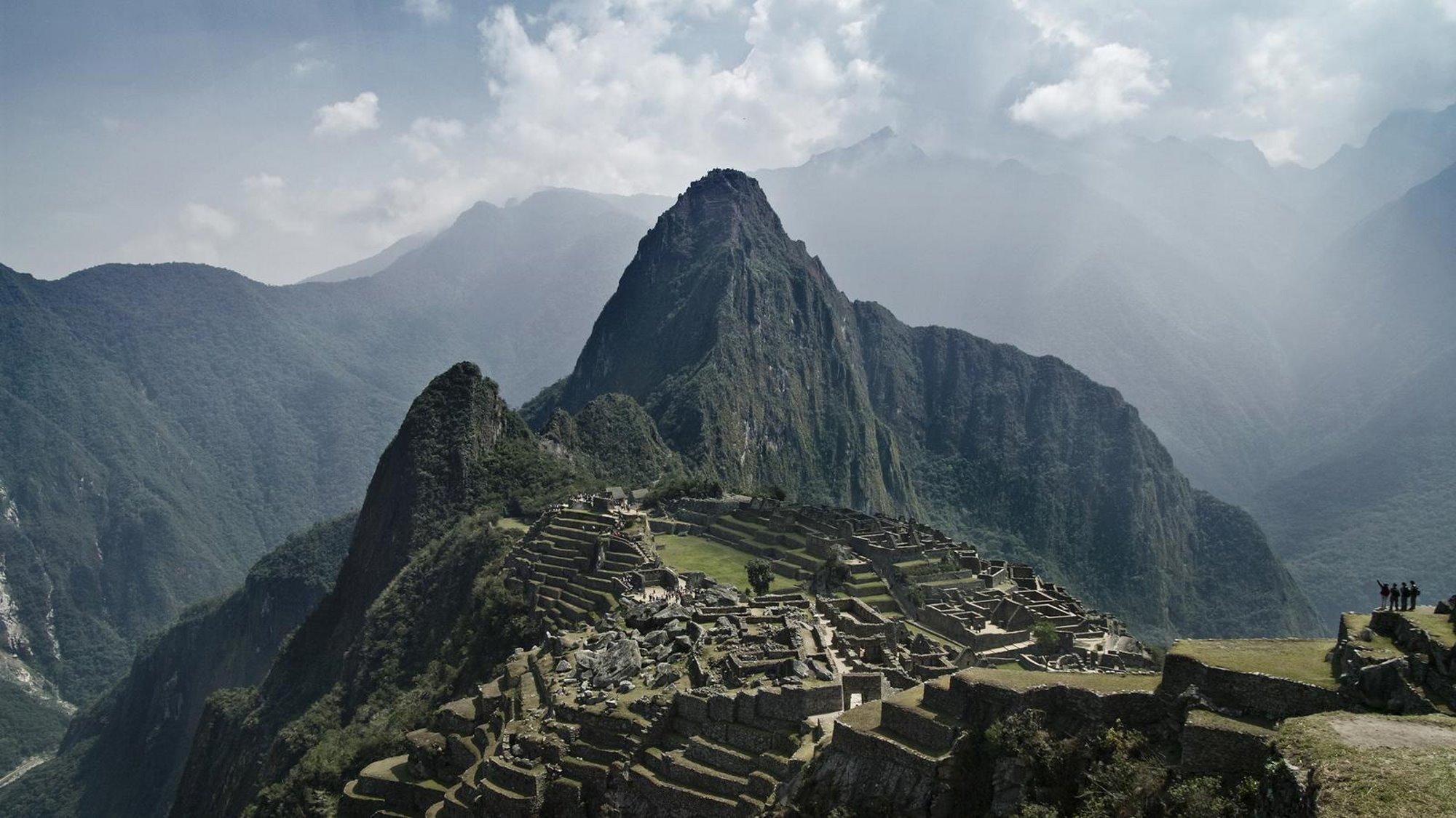 Μάτσου Πίτσου με την επιβλητική του ομορφιά άνοιξε για έναν τουρίστα