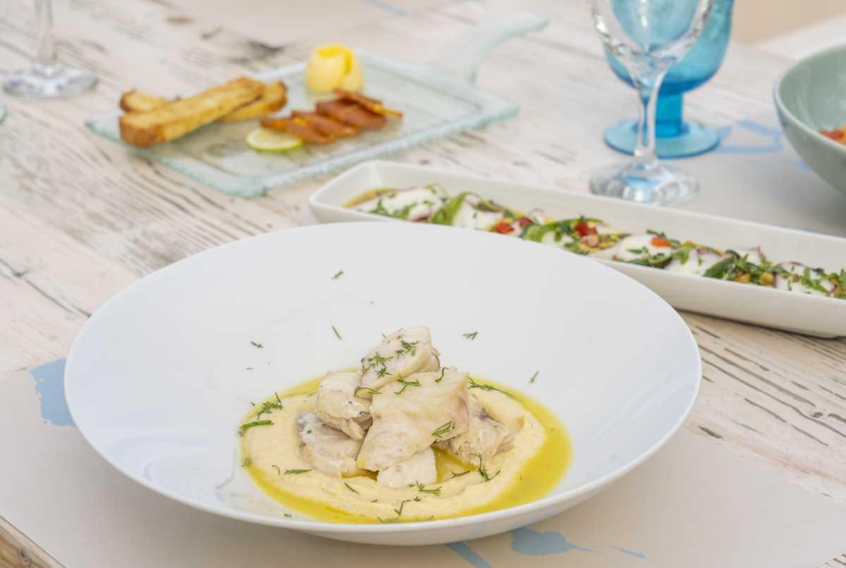 Maritsa restaurant, ψάρι