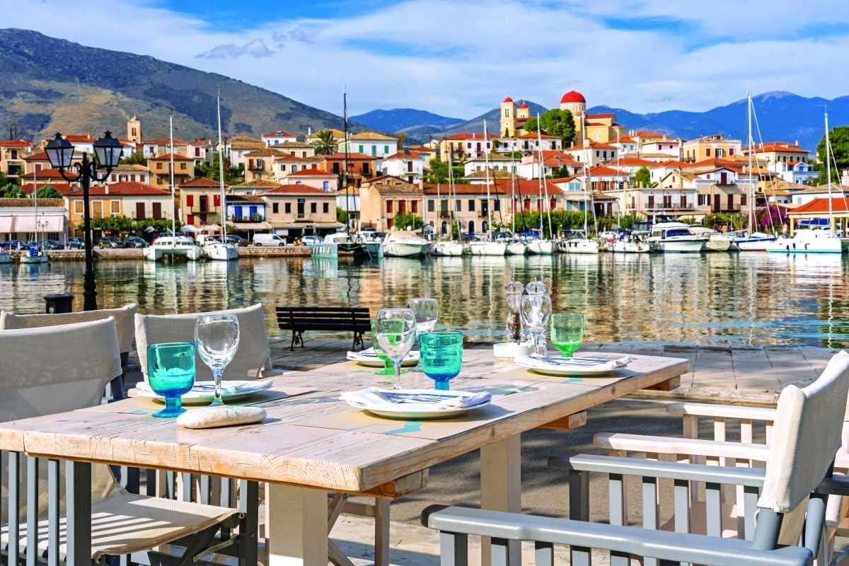 Maritsa restaurant, η θέα