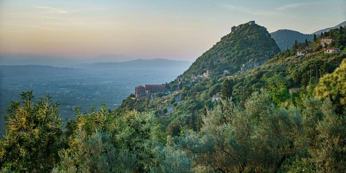 Η θέα από το Mazaraki Guesthouse