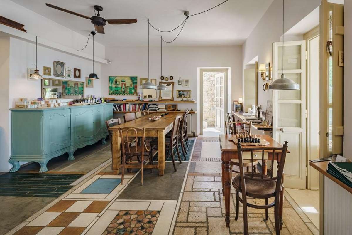 Mazaraki Guesthouse, κουζίνα