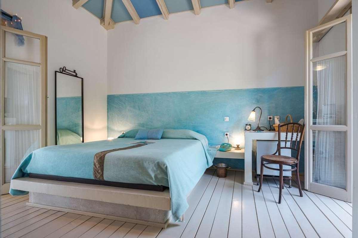 Μazaraki Guesthouse κρεβάτι