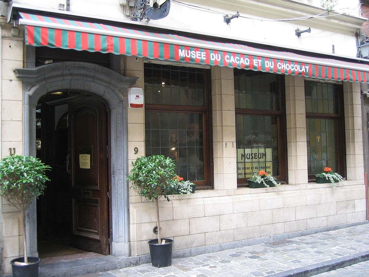 Μουσείο κακάο & σοκολάτας στο Βέλγιο