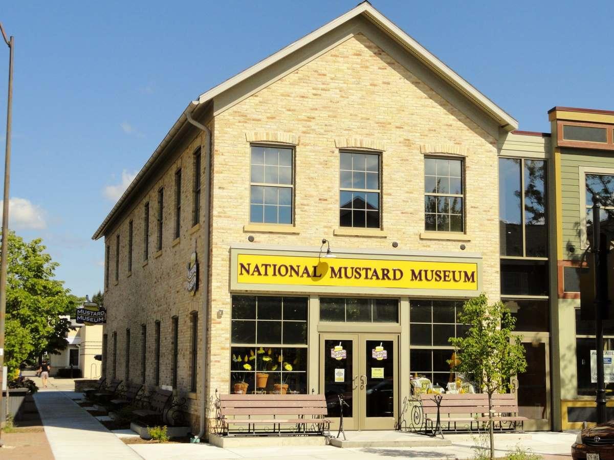 Εθνικό μουσείο μουστάρδας, εξωτερική εικόνα κτηρίου