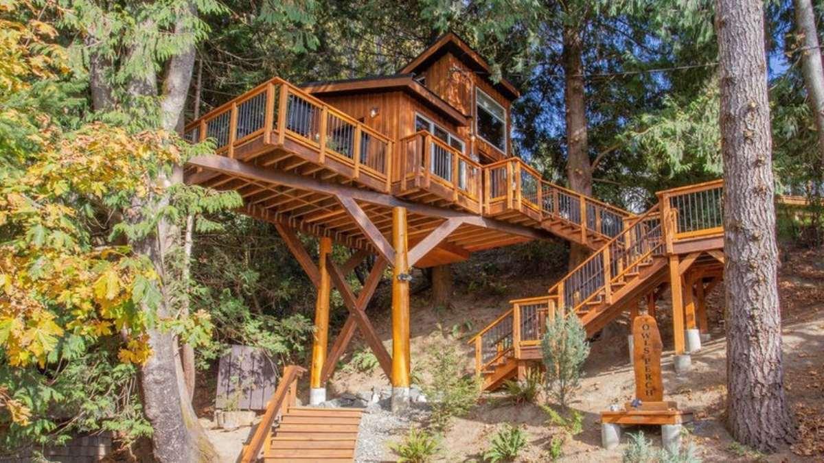 Ochl's Perch Treehouse, Βρετανική Κολομβία, Καναδάς