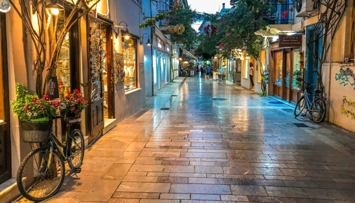 Ναύπλιο, πεζόδρομος, παλιά πόλη