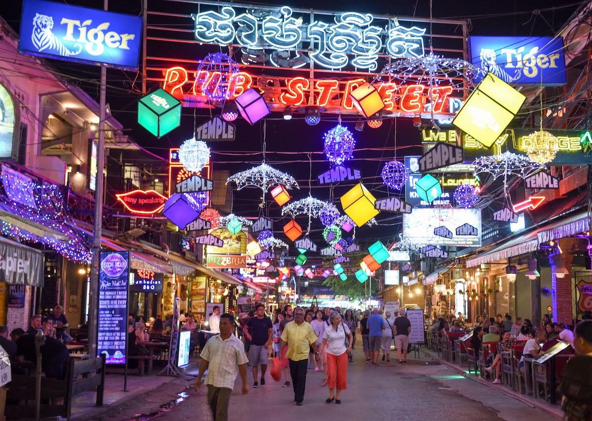 Καμπότζη αγορά