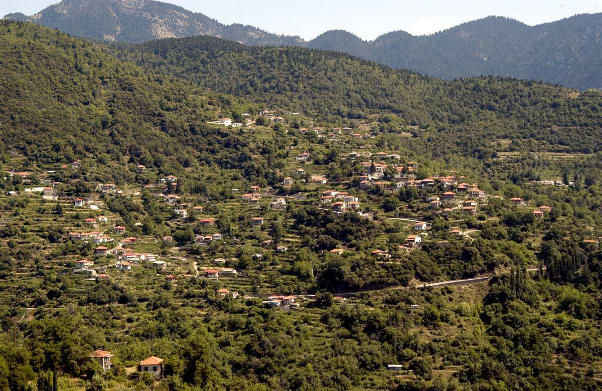 Πανοραμική εικόνα της Τερψιθέας, Αιτωλοακαρνανία