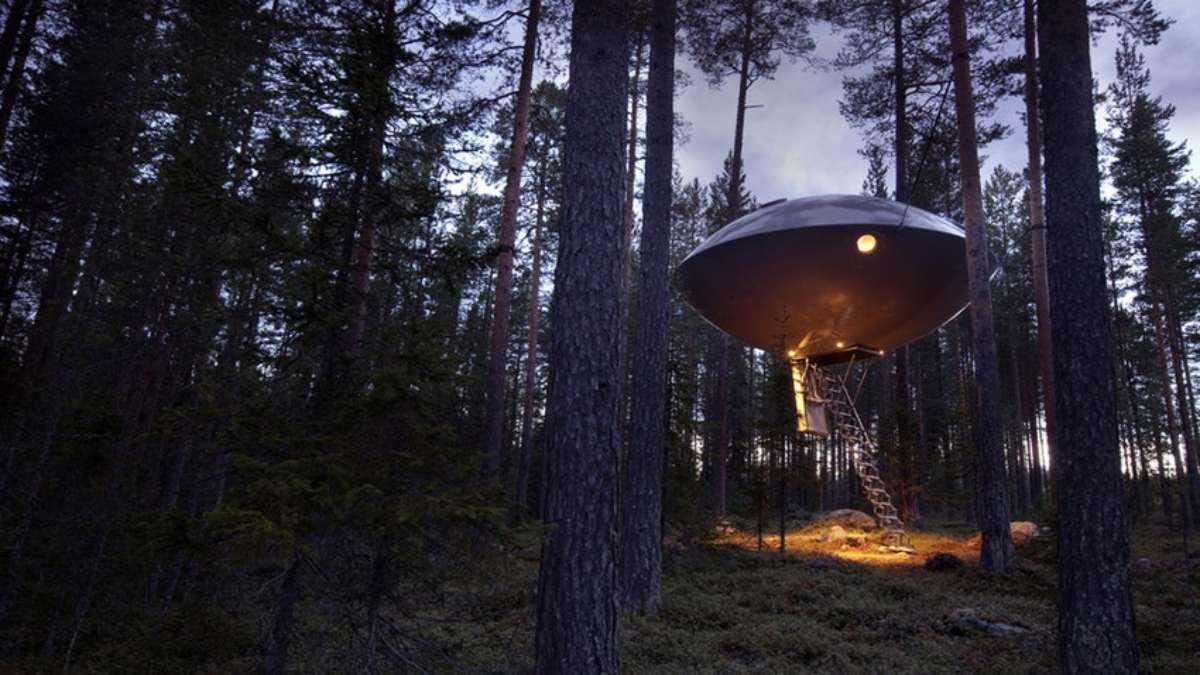 Tree House Hotel, Harads, Σουηδία