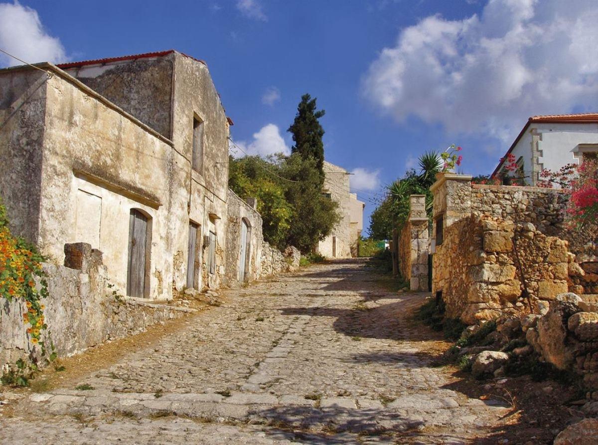Βάμος Χανιά χωριό παλιός δρόμος