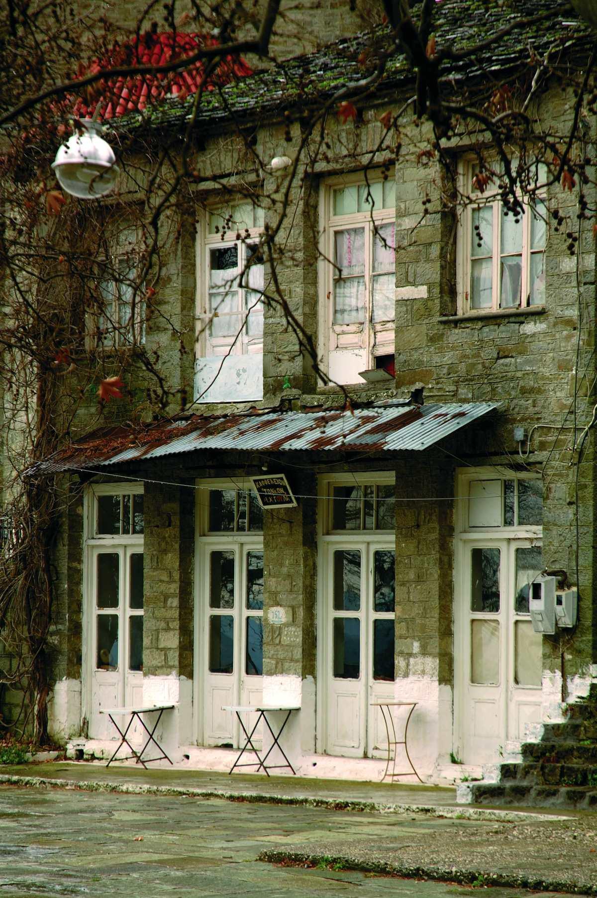 Χαρακτηριστικά κτήρια στο Βουλγαρέλι, Άρτα