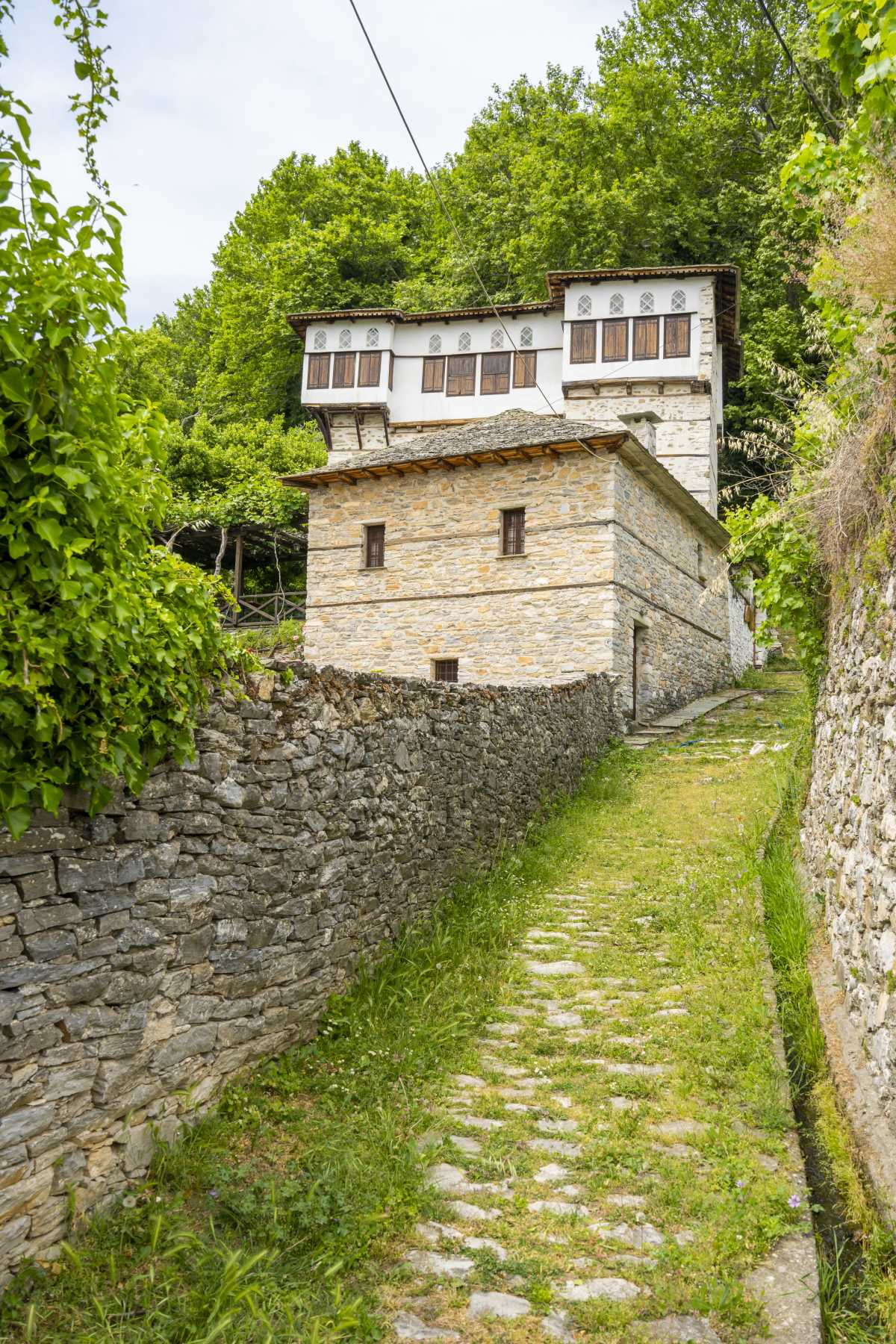 Βυζίτσα, η αρχιτεκτονική των σπιτιών στο χωριό